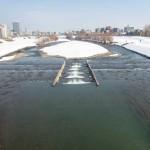 3月17日の豊平川