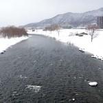 3月1日の豊平川