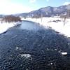 3月5日の豊平川