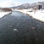 3月13日の豊平川