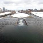 3月26日の豊平川