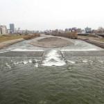 4月7日の豊平川