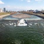 4月10日の豊平川