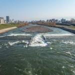 4月20日の豊平川
