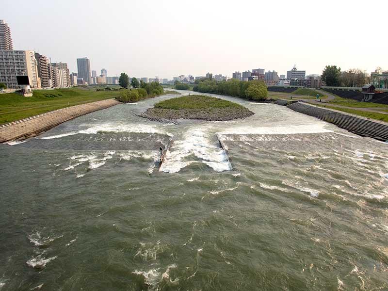 2016年5月20日の豊平川