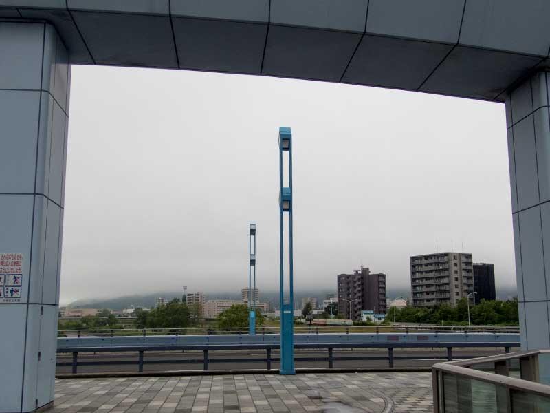 幌平橋より
